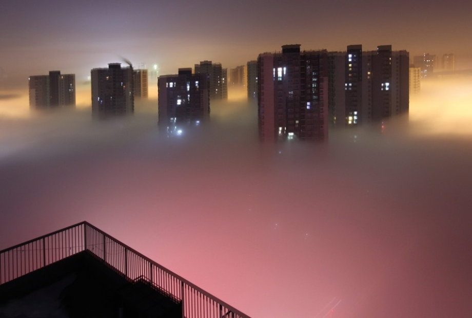 关于雾霾的英语作文 中英对照 英语写作